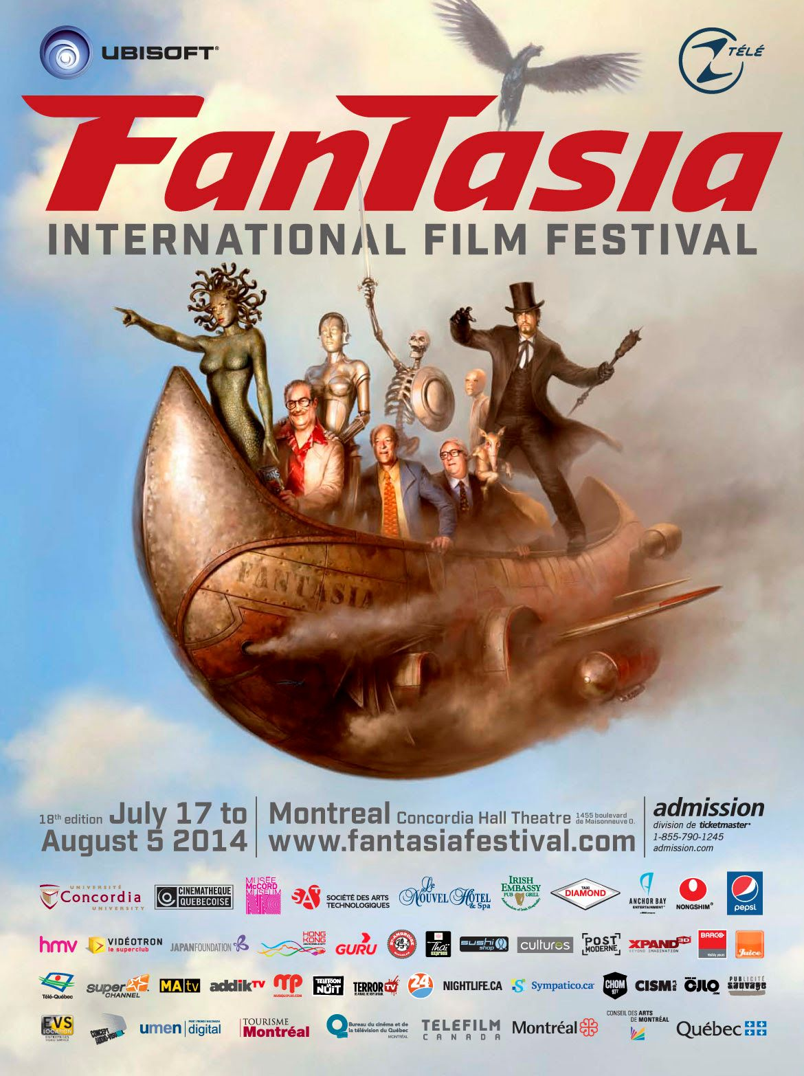 Fantasia International Film Festival 2014 Poster
