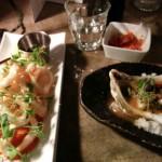 Calmari, Scallops and Kimchi
