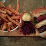 Thazard wagyu beef burger