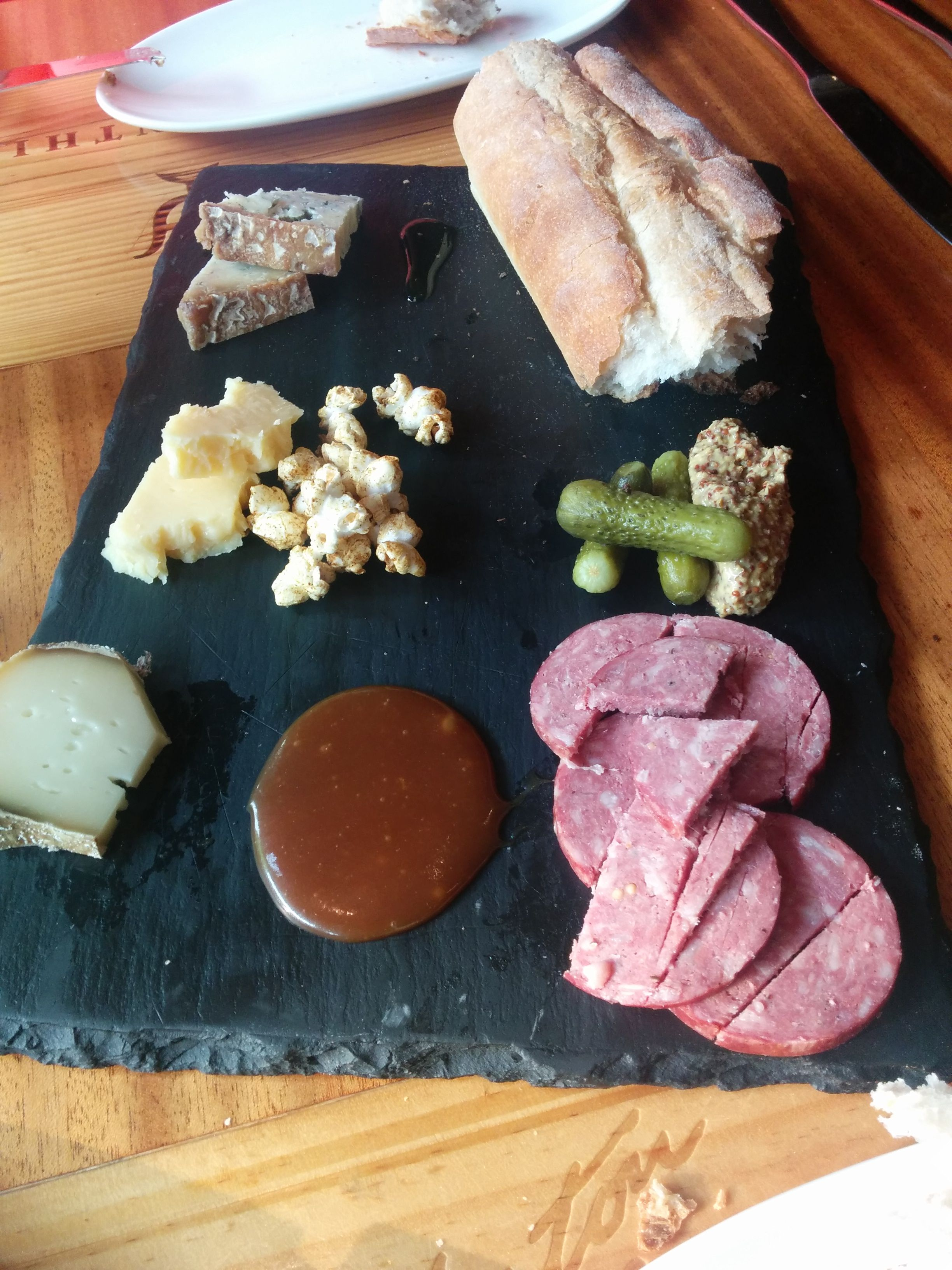 Bar Pastoral cheese and meat plate