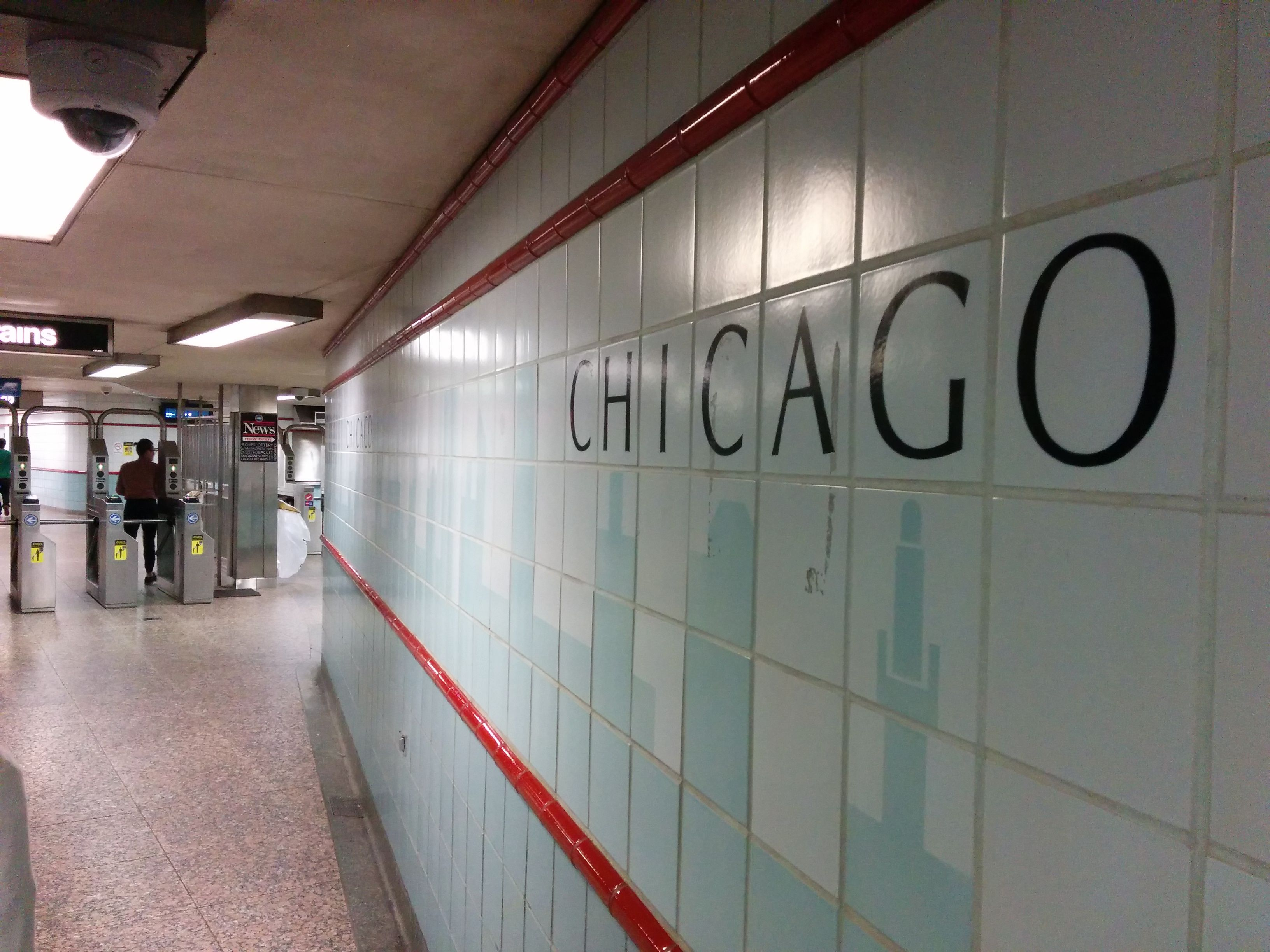 CTA Chicago stop