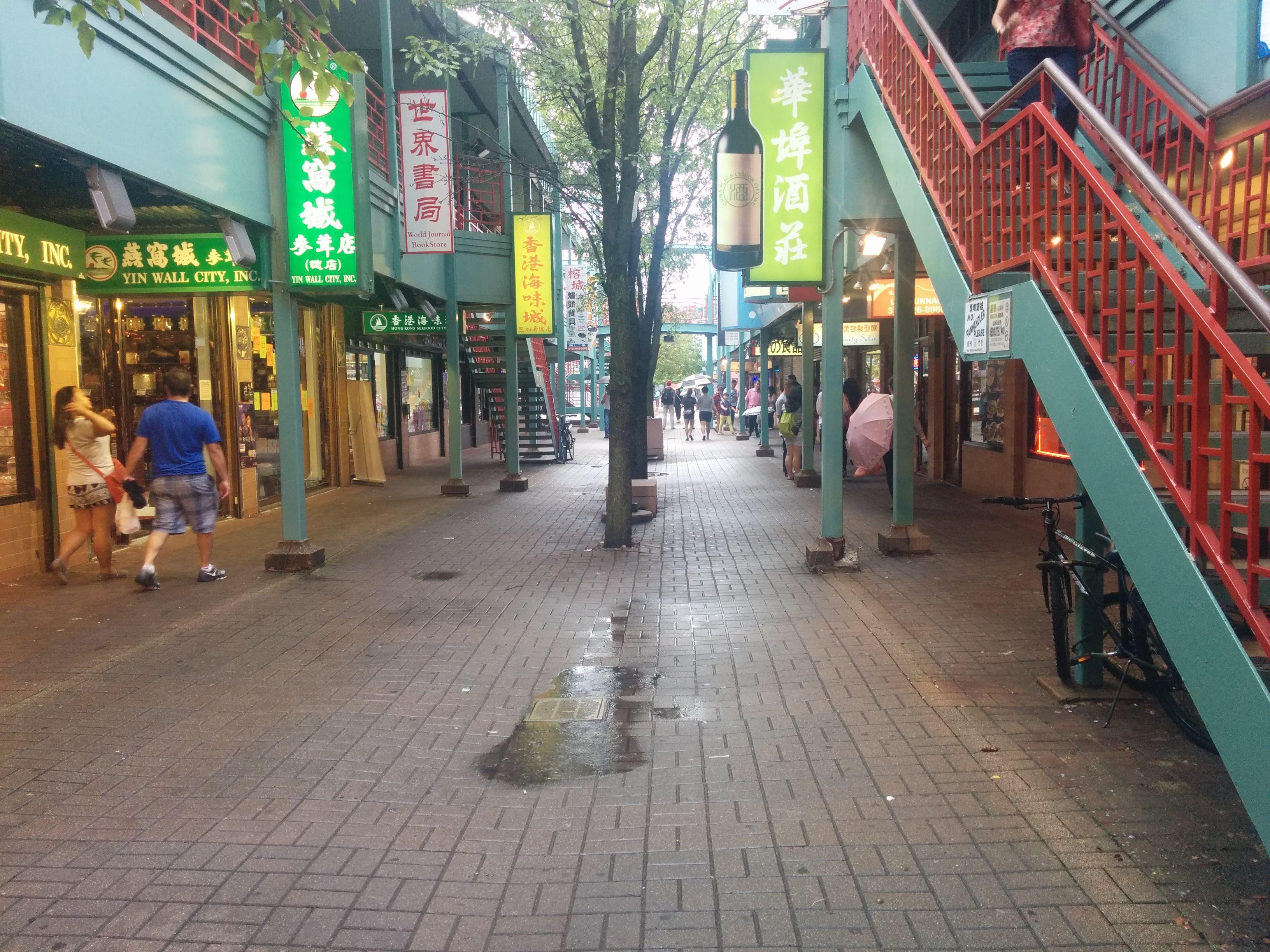 Chinatown rain