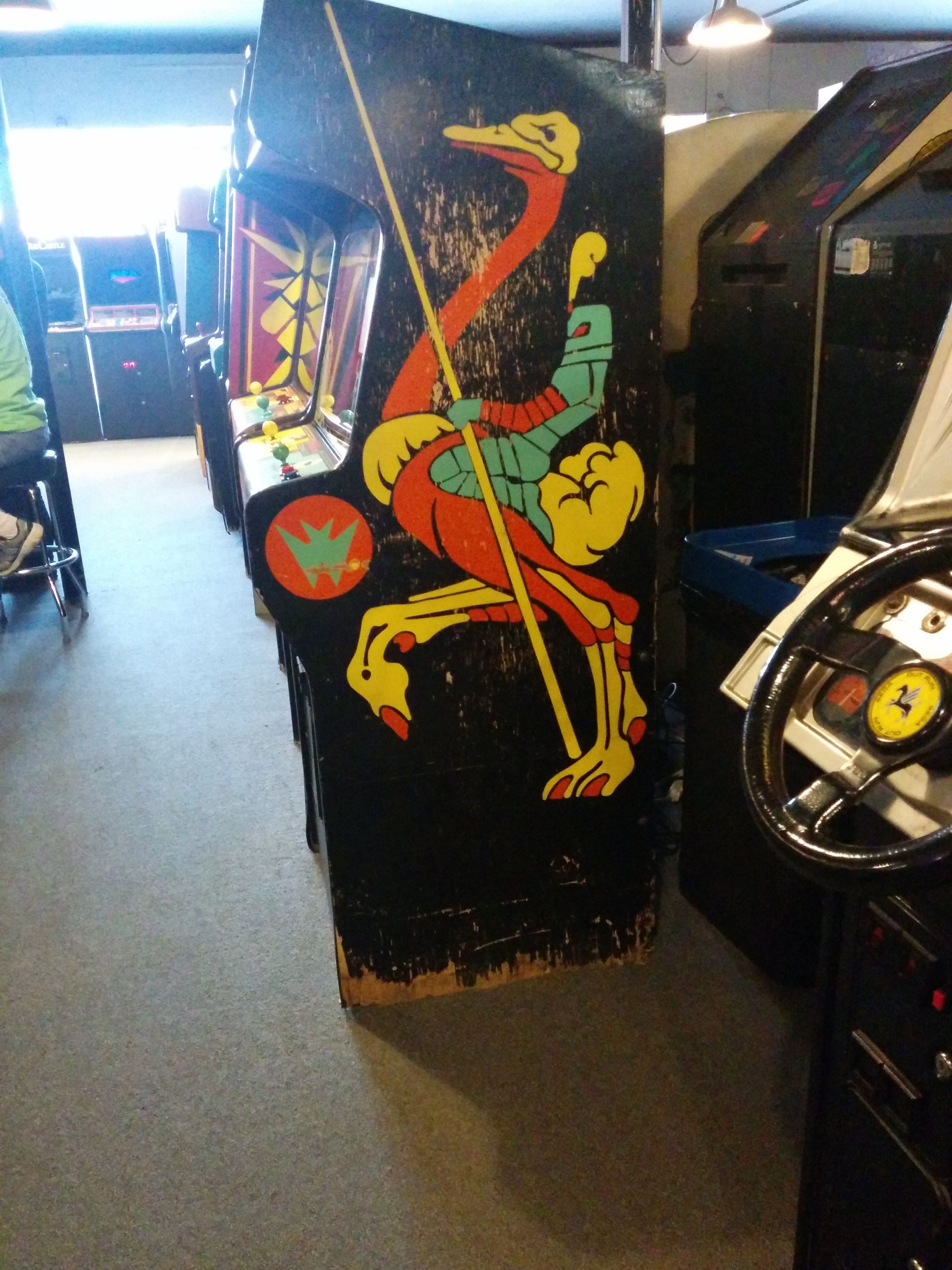 Galloping Ghost Joust Cabinet