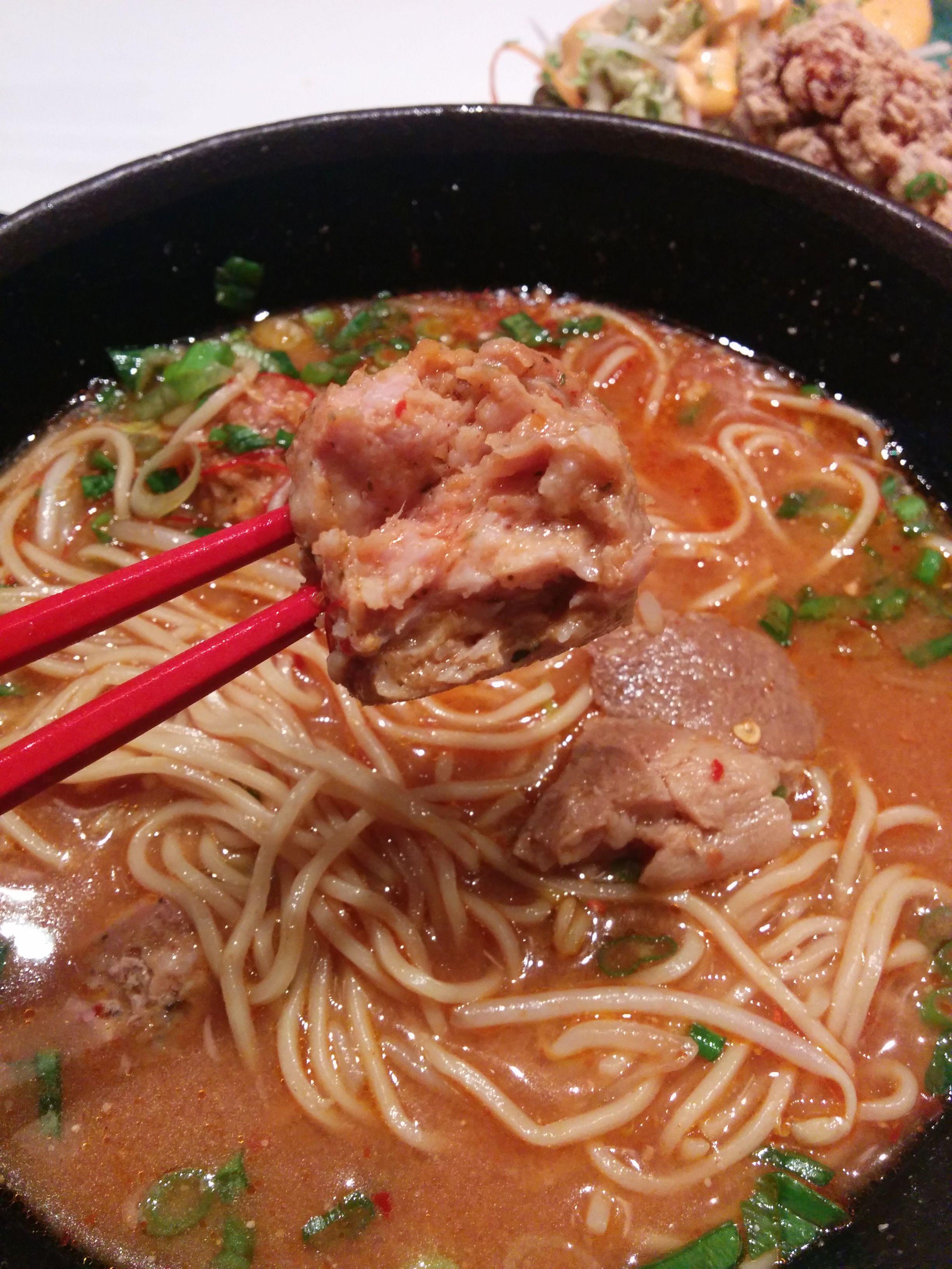 Tan Tan Men Ramen meatball